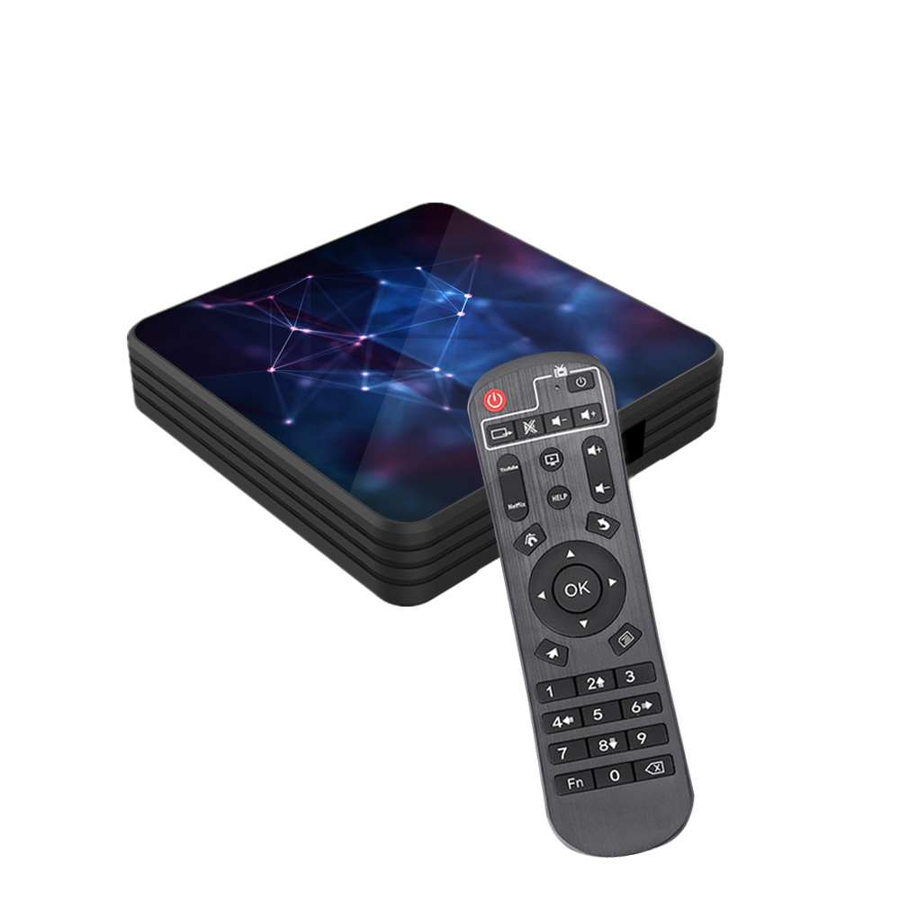 Приставка Z3 Allwinner H6  4G 32GB Smart tv box Android 9,0